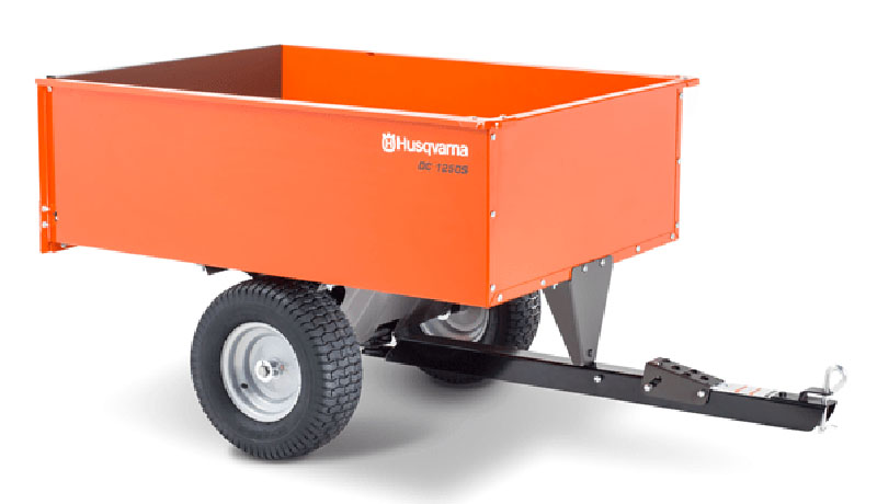 2021 Husqvarna Power Equipment 16 Cu. Ft. Steel Swivel Dump Cart in Cumming, Georgia - Photo 1