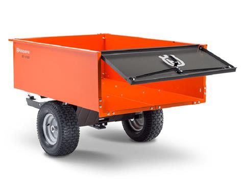 2021 Husqvarna Power Equipment 16 Cu. Ft. Steel Swivel Dump Cart in Cumming, Georgia - Photo 3