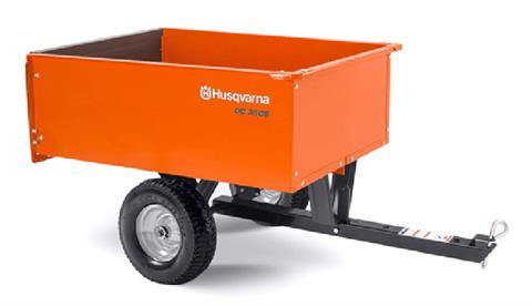 2021 Husqvarna Power Equipment 9 Cu. Ft. Steel Dump Cart in Petersburg, West Virginia