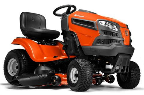 2021 Husqvarna Power Equipment YTH24V48 48 in. Briggs & Stratton Intek CARB 24 hp in Petersburg, West Virginia