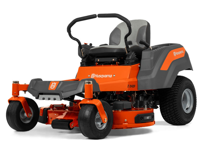 2021 Husqvarna Power Equipment Z242F 42 in. Kawasaki FR Series 18 hp Lowes in Melissa, Texas - Photo 2