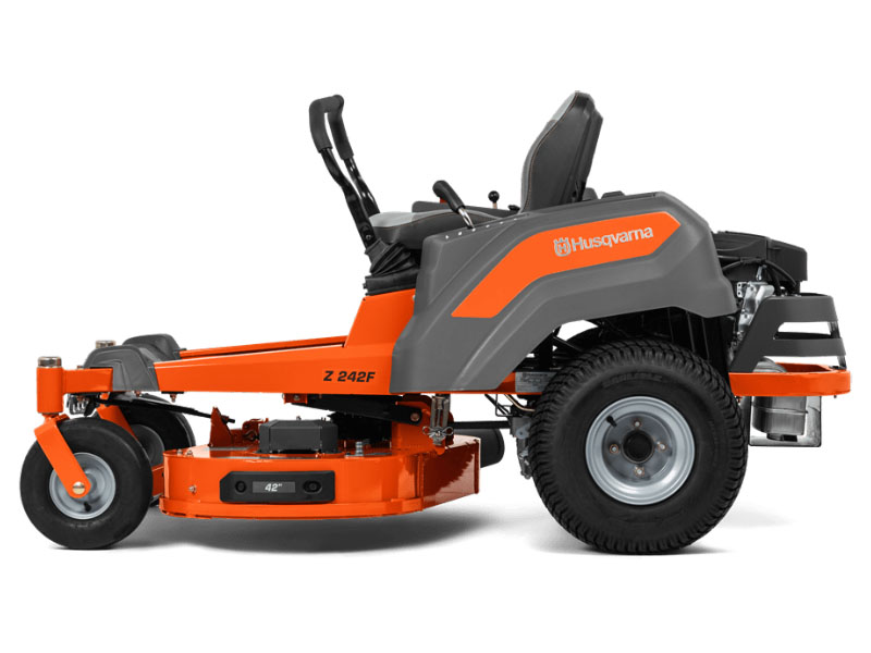 2021 Husqvarna Power Equipment Z242F 42 in. Kawasaki FR Series 18 hp Lowes in Melissa, Texas - Photo 3