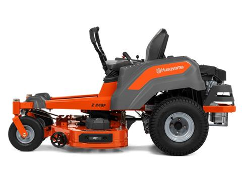 2021 Husqvarna Power Equipment Z248F 48 in. Kawasaki FR Series 21.5 hp Lowes in Gaylord, Michigan - Photo 3