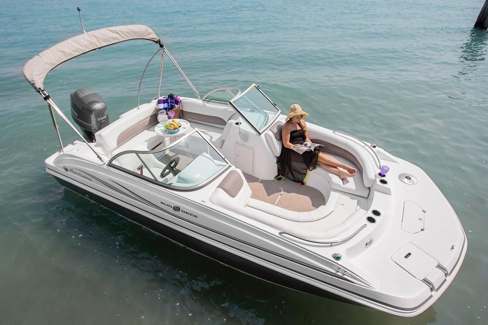 2016 Hurricane SunDeck 187 OB in Lewisville, Texas - Photo 3