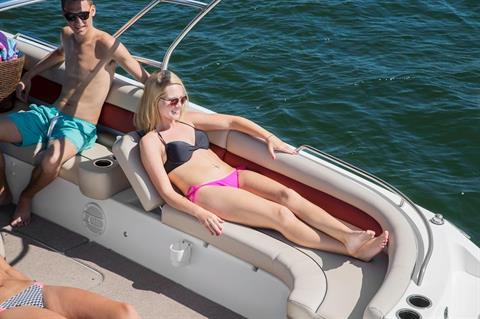 2016 Hurricane SunDeck Sport 201 OB in Bridgeport, New York