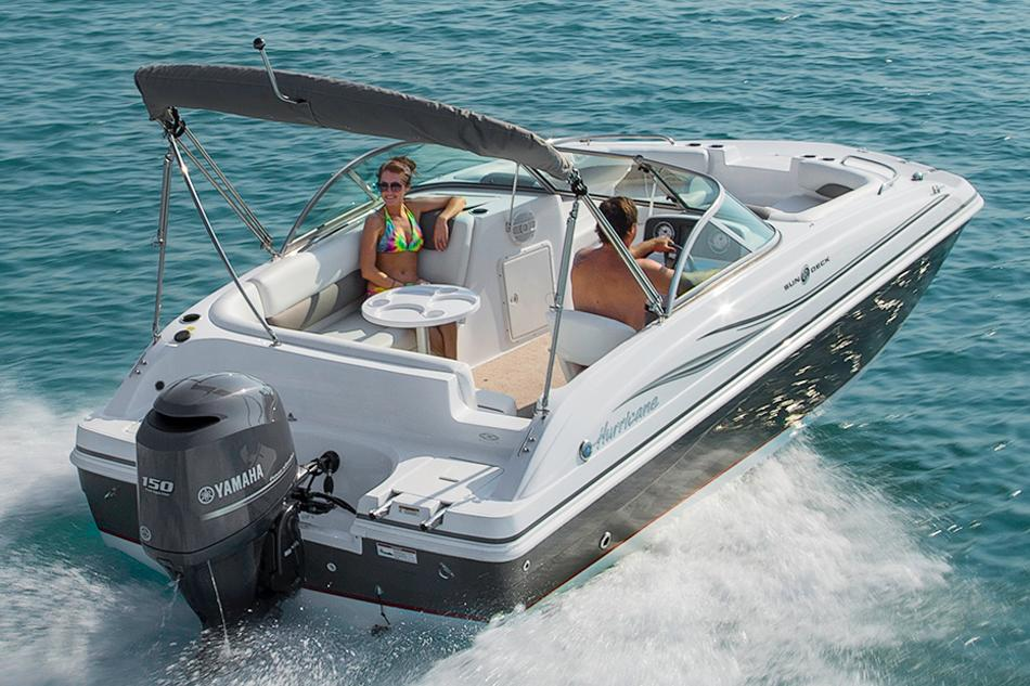 2017 Hurricane SunDeck 187 OB in Kalamazoo, Michigan