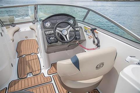 2017 Hurricane SunDeck 2200 DC OB in Lewisville, Texas