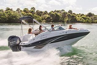 2017 Hurricane SunDeck 2200 DC OB in Kalamazoo, Michigan