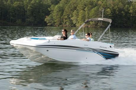 2018 Hurricane SunDeck Sport 188 IO in Kalamazoo, Michigan