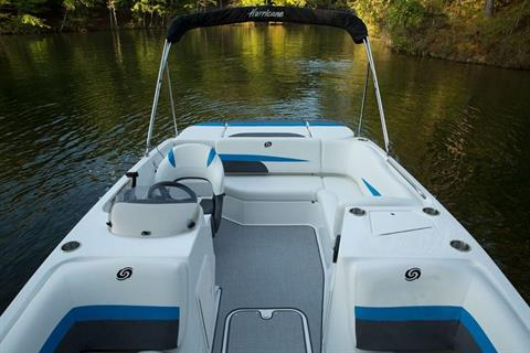 2018 Hurricane SunDeck Sport 188 IO in Bridgeport, New York