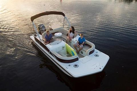 2018 Hurricane FunDeck 198 OB in Lewisville, Texas