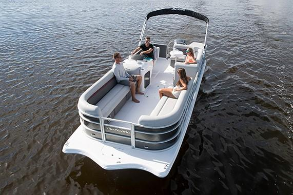 2018 Hurricane FunDeck 236 OB in Lewisville, Texas - Photo 4