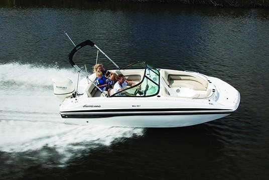 2018 Hurricane SunDeck 187 OB in Lewisville, Texas