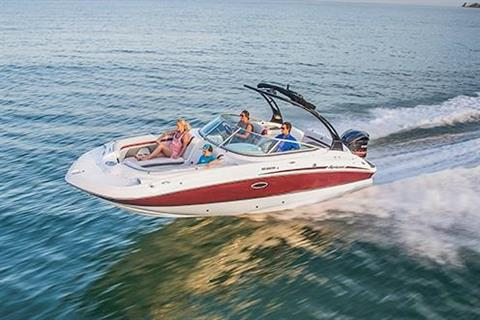 2018 Hurricane SunDeck 2400 OB in Lake City, Florida