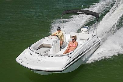 2018 Hurricane SunDeck Sport 188 OB in Bridgeport, New York - Photo 2
