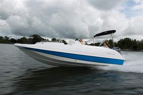 2018 Hurricane SunDeck Sport 202 OB in Lake City, Florida