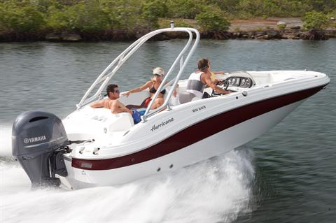 2018 Hurricane SunDeck Sport 203 OB in Lake City, Florida