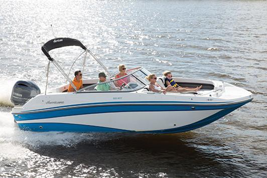 2019 Hurricane SunDeck 217 OB in Lake City, Florida