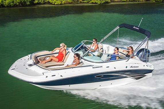2019 Hurricane SunDeck 2200 DC OB in Bridgeport, New York - Photo 1