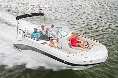 2019 Hurricane SunDeck 2486 OB in Ponderay, Idaho
