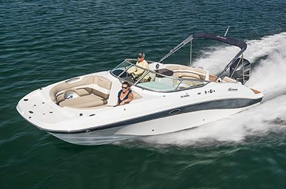 2019 Hurricane SunDeck 2690 OB in Perry, Florida - Photo 1
