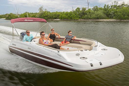 2019 Hurricane SunDeck Sport 201 OB in Lake City, Florida - Photo 2