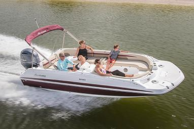 2019 Hurricane SunDeck Sport 201 OB in Perry, Florida