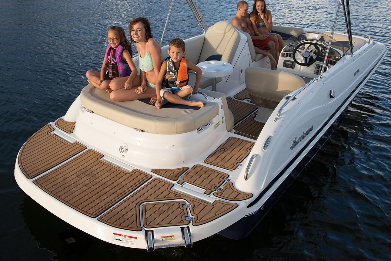 2021 Hurricane SunDeck Sport 202 IO in Lafayette, Louisiana - Photo 3