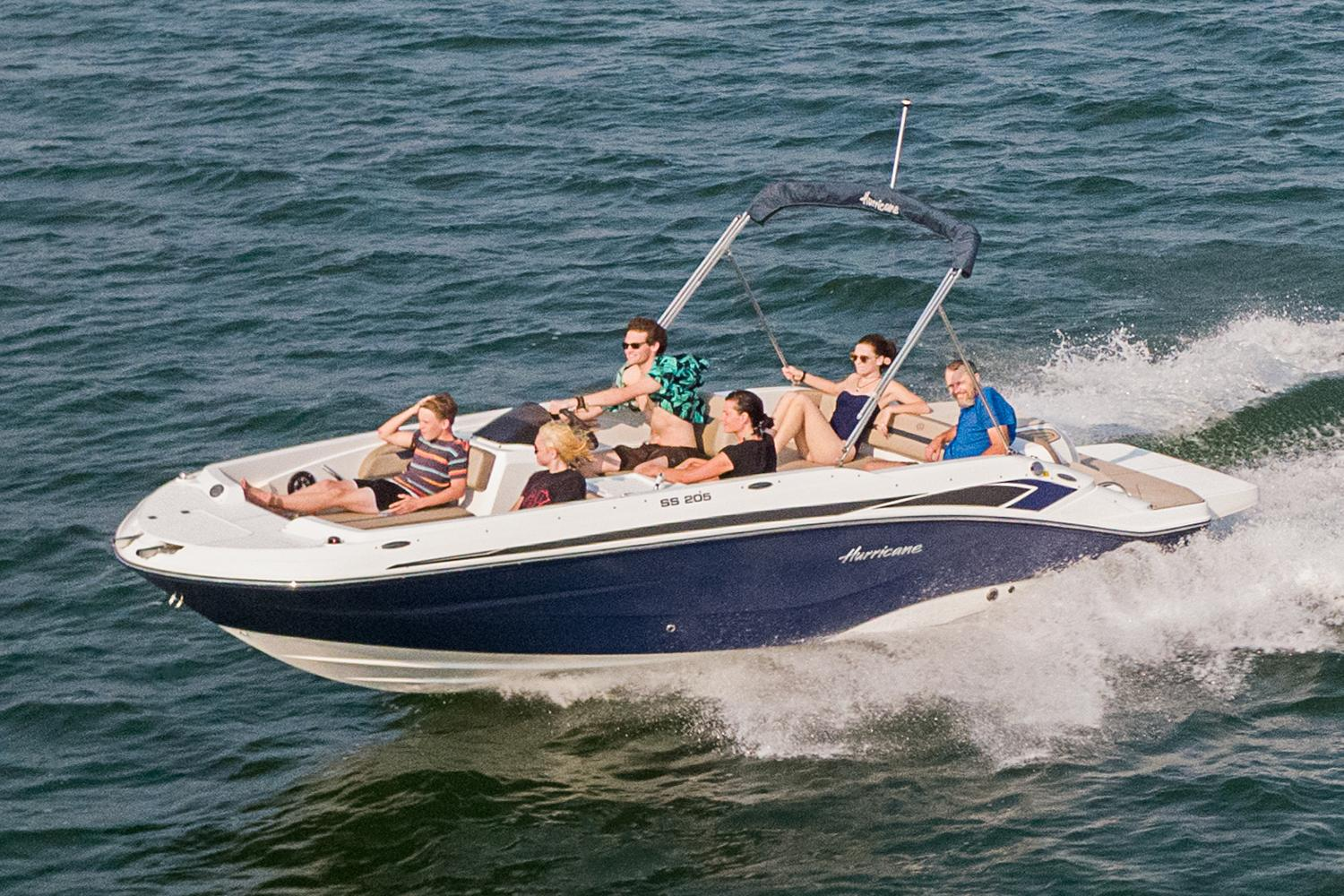 2021 Hurricane SunDeck Sport 205 IO in Kenner, Louisiana - Photo 1