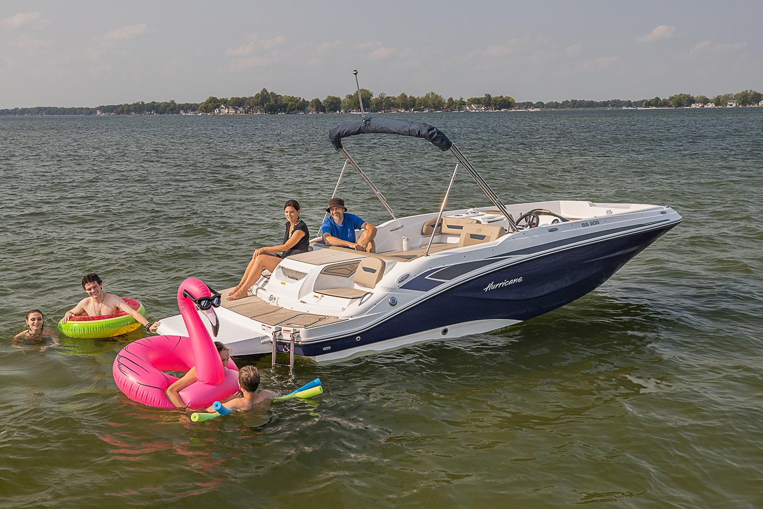 2021 Hurricane SunDeck Sport 205 IO in Lafayette, Louisiana - Photo 2