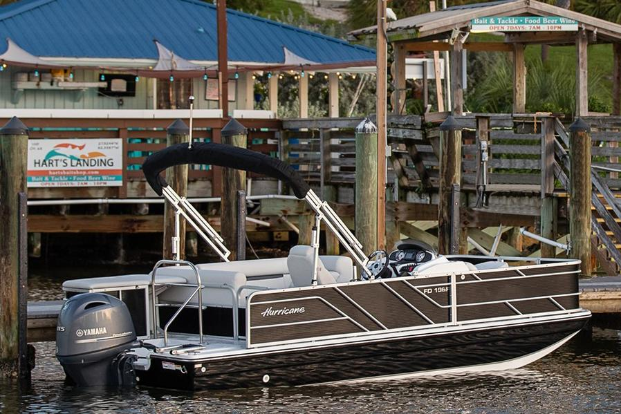 2021 Hurricane FunDeck 216F OB in Kenner, Louisiana - Photo 2