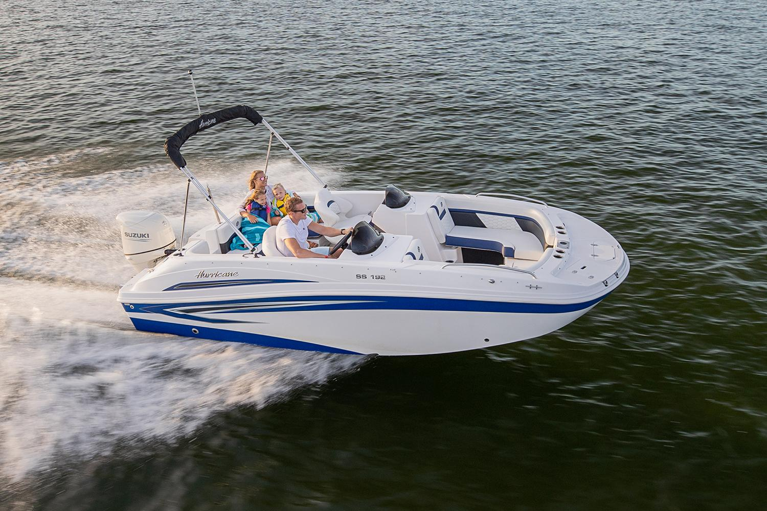 2021 Hurricane SunDeck Sport 192 OB in Lafayette, Louisiana - Photo 1
