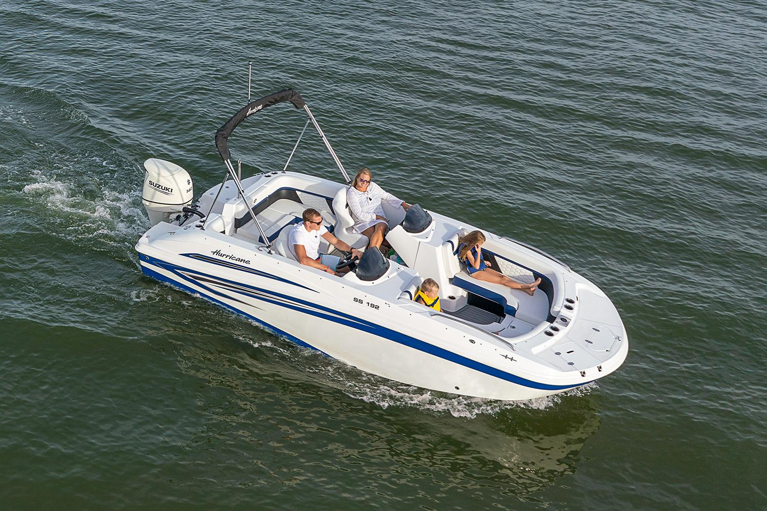 2021 Hurricane SunDeck Sport 192 OB in Lafayette, Louisiana - Photo 2