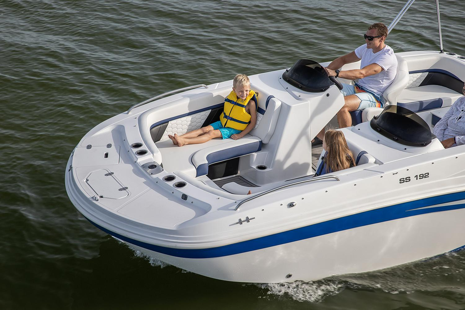 2021 Hurricane SunDeck Sport 192 OB in Lafayette, Louisiana - Photo 6