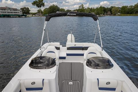 2021 Hurricane SunDeck Sport 192 OB in Lafayette, Louisiana - Photo 9