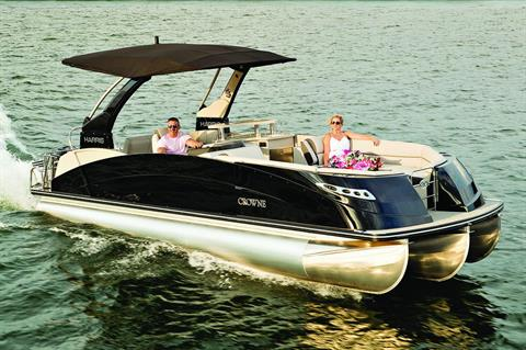 2018 Harris Crowne SL 250 Twin Engine in Cable, Wisconsin