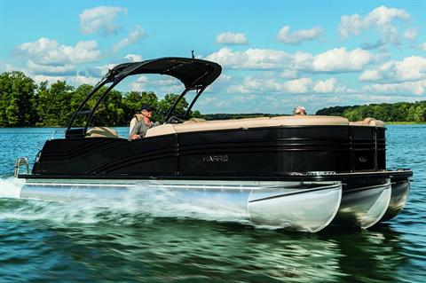 2018 Harris Grand Mariner CW 250 Twin Engine in Cable, Wisconsin