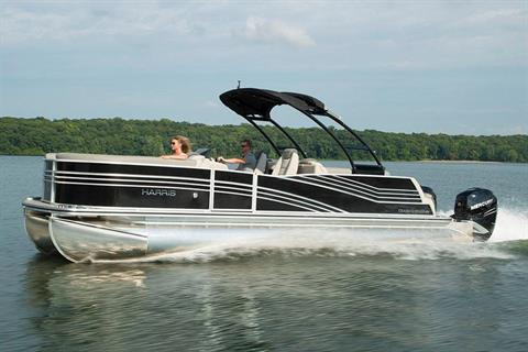 2018 Harris Grand Mariner DL 270 Twin Engine in Cable, Wisconsin