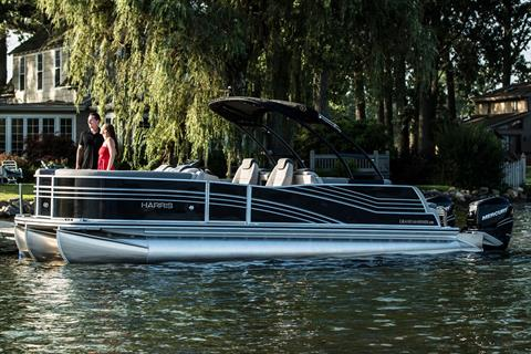 2018 Harris Grand Mariner SL 270 Twin Engine in Cable, Wisconsin