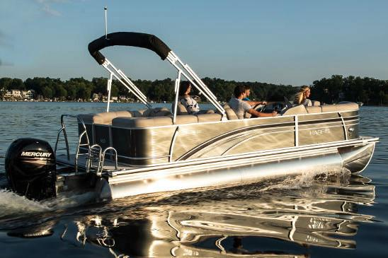 2019 Harris Sunliner 220 in Cable, Wisconsin - Photo 2