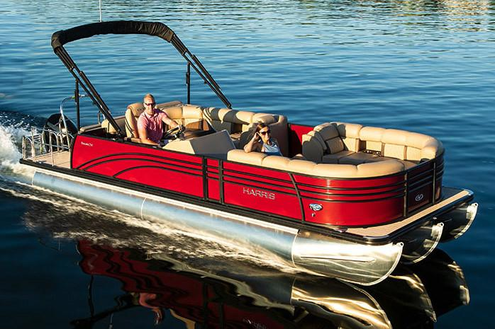 2019 Harris Sunliner 250 in Cable, Wisconsin - Photo 1