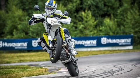 2016 Husqvarna 701 Supermoto in Hendersonville, North Carolina