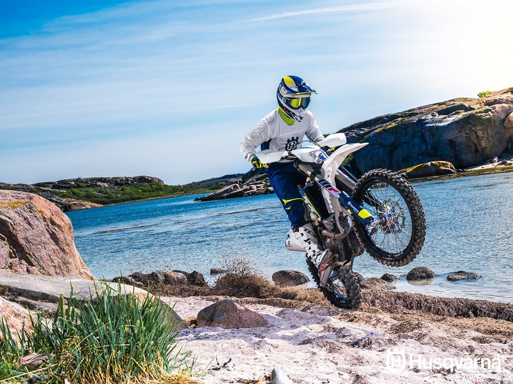 2017 Husqvarna FE 350 in Fontana, California