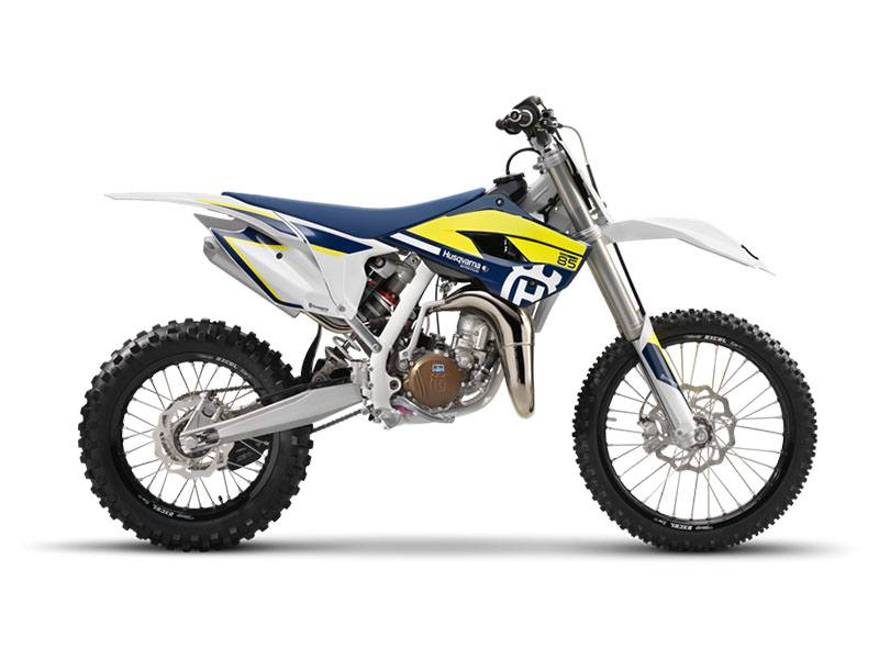 2017 Husqvarna TC 85 19/16 in Fontana, California