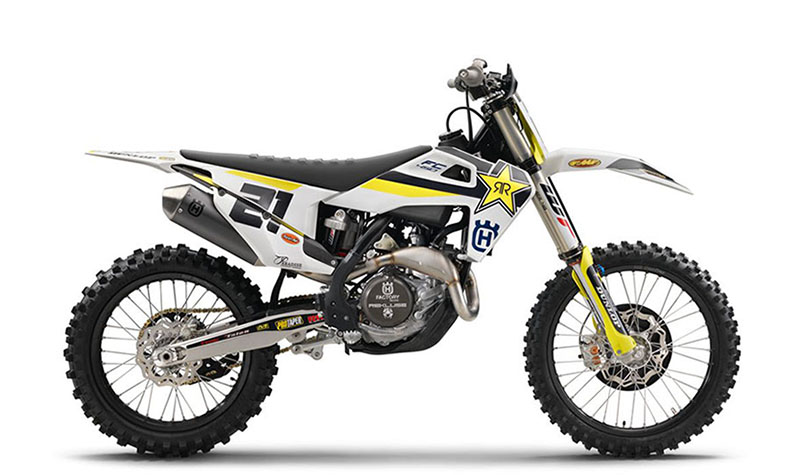 2018 Husqvarna FC 450 Rockstar Edition in Clarence, New York
