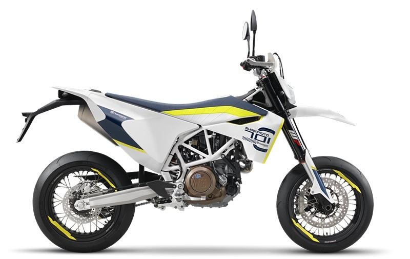 2018 Husqvarna 701 Supermoto in Woodinville, Washington
