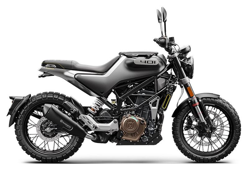 2020 Husqvarna Svartpilen 401 in Bellingham, Washington - Photo 1