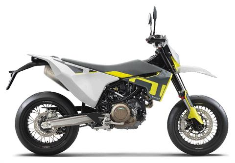 2021 Husqvarna 701 Supermoto in Chico, California