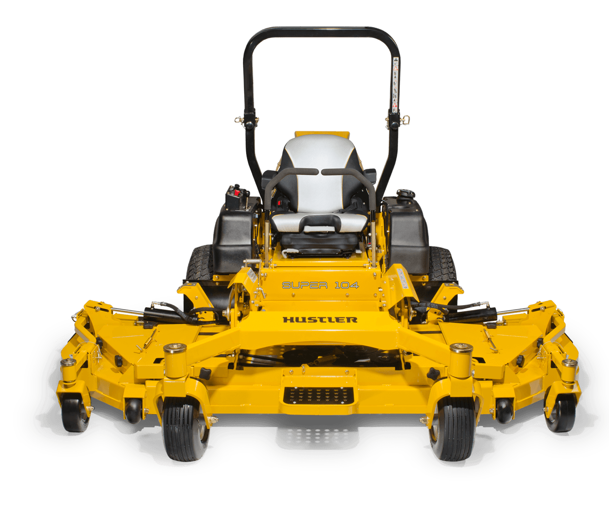 2017 Hustler Turf Equipment Super 104 Vanguard EFI in Conway, New Hampshire