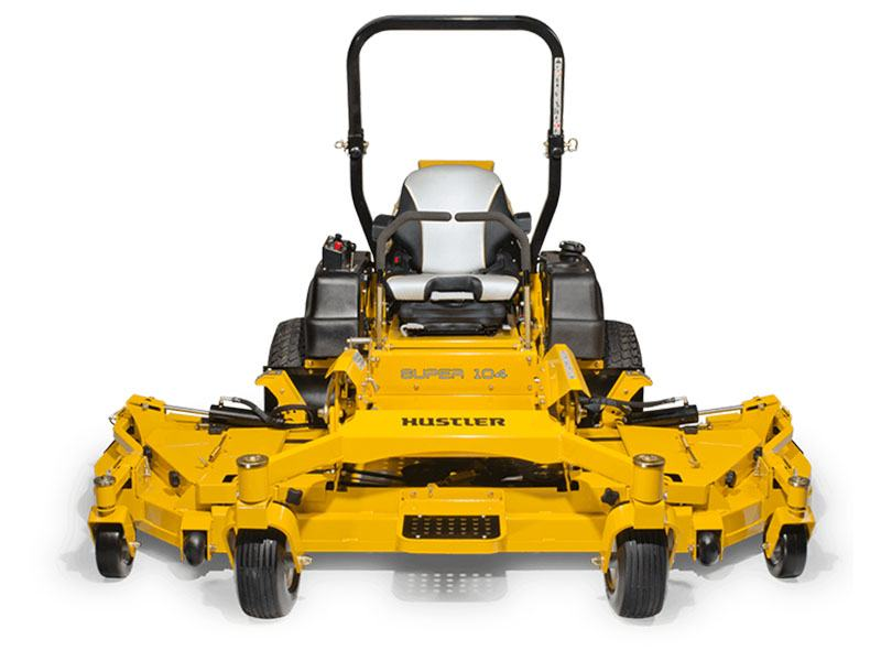 2017 Hustler Turf Equipment Super 104 Vanguard EFI in Hillsborough, New Hampshire